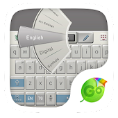 Old Keys E611 Keyboard Theme