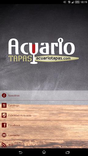 Acuario Tapas