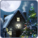 Christmas Moon free icon