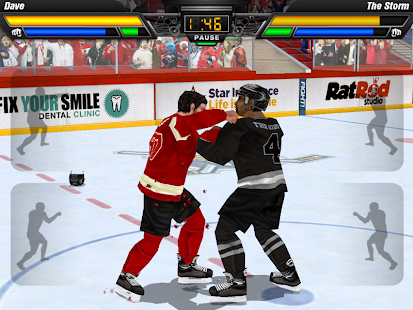 Hockey Fight Pro Screenshot