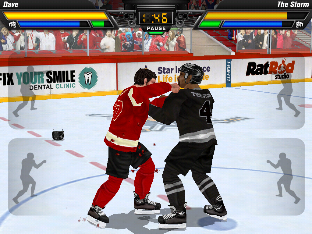 Hockey Fight Pro- screenshot