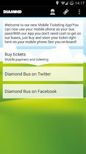 Diamond Bus M-tickets