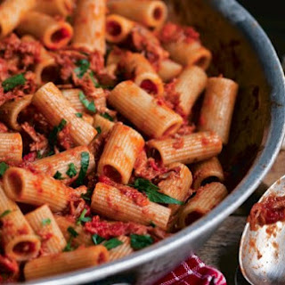 Rigatoni With Sunday Night Ragu.