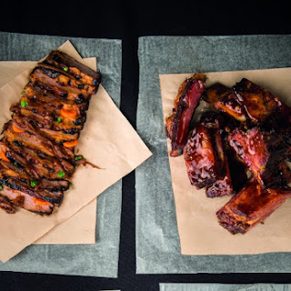 BBQ Beef Ribs with Monkey Gland Sauce