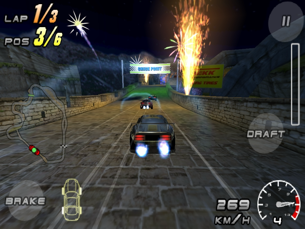 Raging Thunder 2 - FREE- screenshot