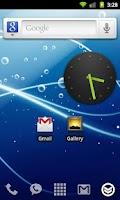Screenshot of DropDown Widget