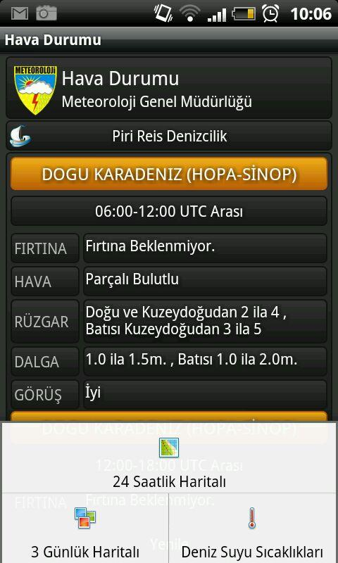 Hava Durumu - screenshot