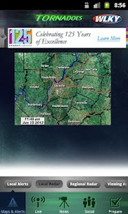 Tornadoes WLKY 32 - screenshot thumbnail
