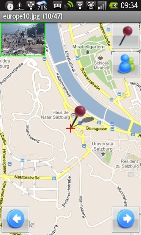 PhotoMap Maker- screenshot
