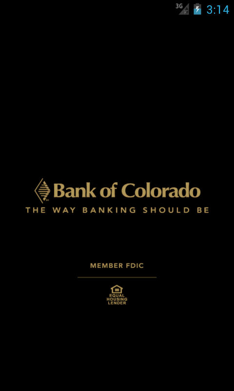Bank of Colorado - screenshot