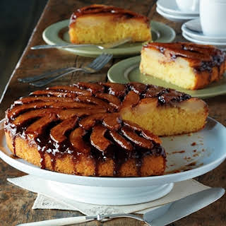 Spiced Pear Upside Down Cake.