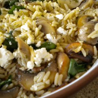 Baked Mushroom Rice Pilaf - 3 Ways.