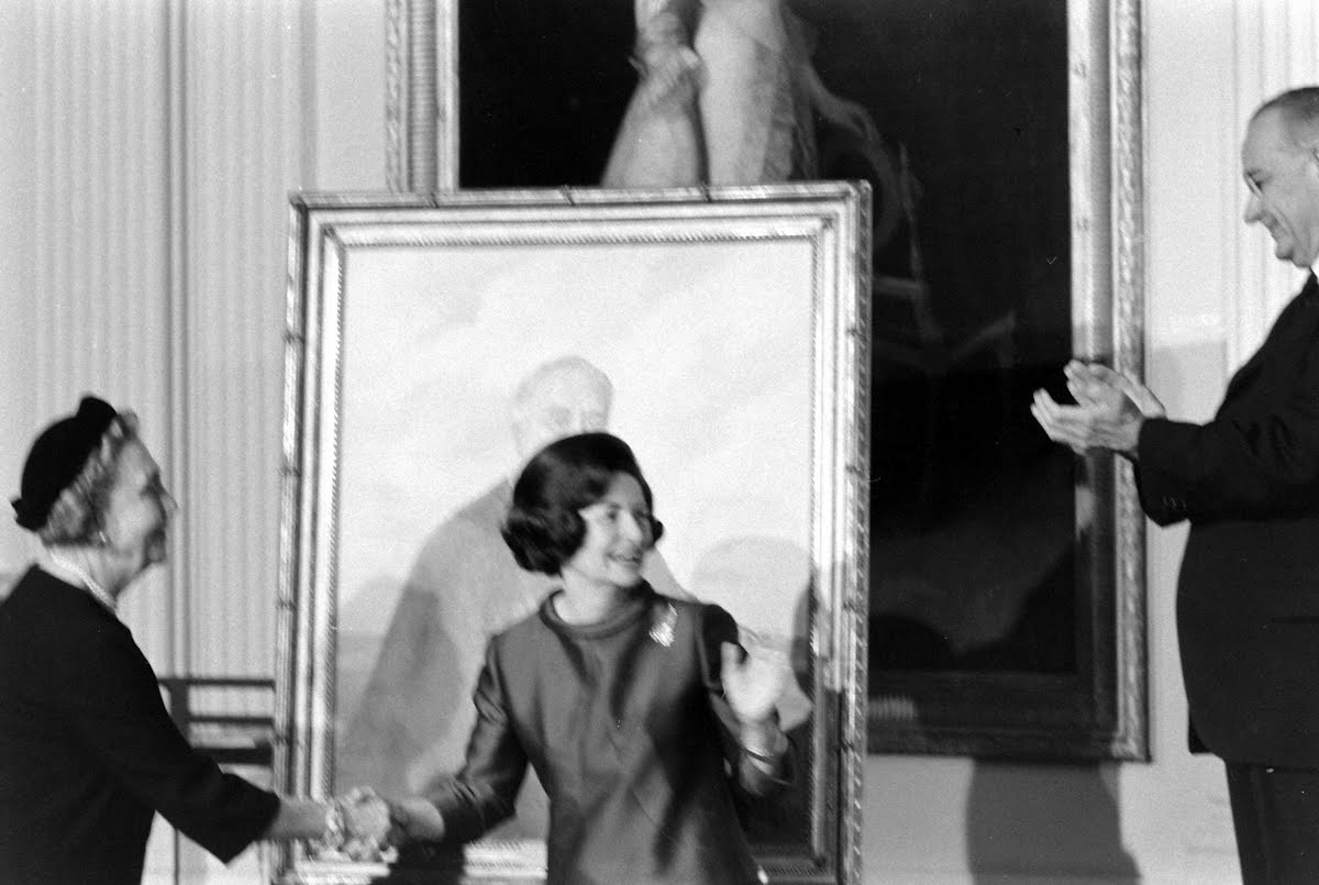 Unveiling Of F.D.R. Portrait At White House