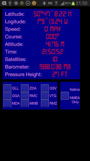 GPS NMEA Bluetooth transmitter