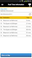Screenshot of Dublin Bus