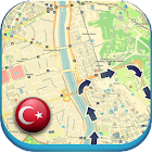 Turkey offline Map Guide News icon