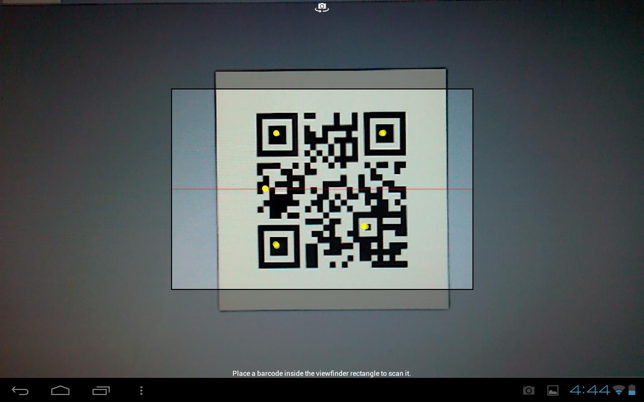 LearnPad Scanner - screenshot