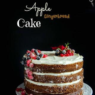 {Spiced Apple Gingerbread Cake} - Tort cu mere si scortisoara