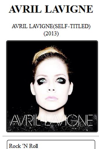Chords n Lyrics Avril Lavigne