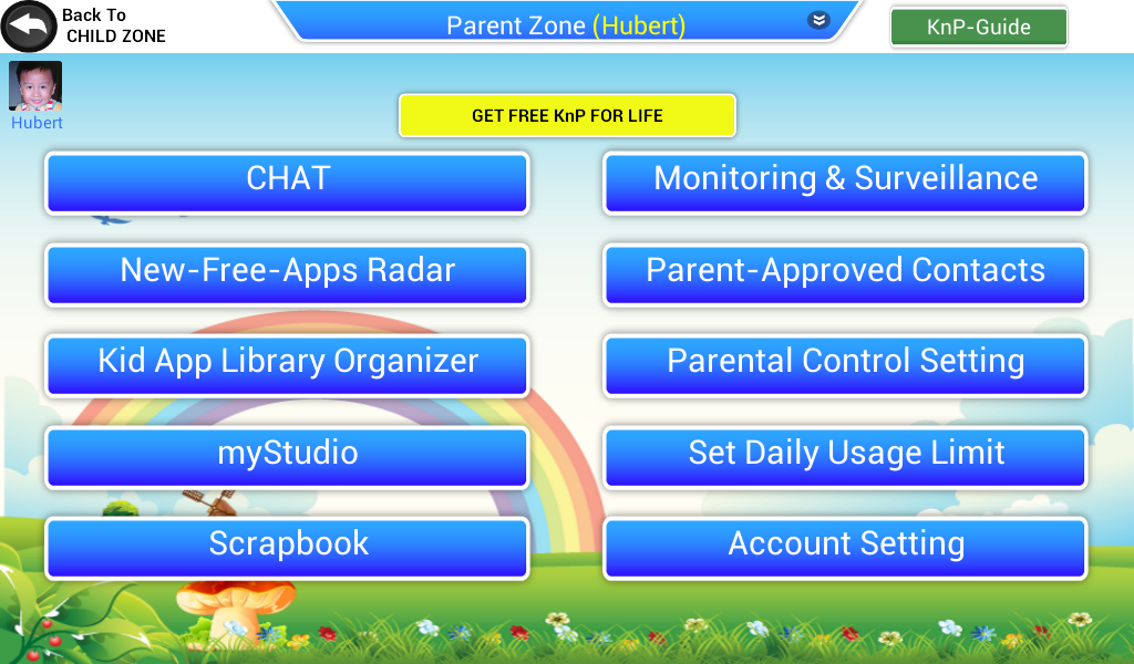 Parent-App - screenshot
