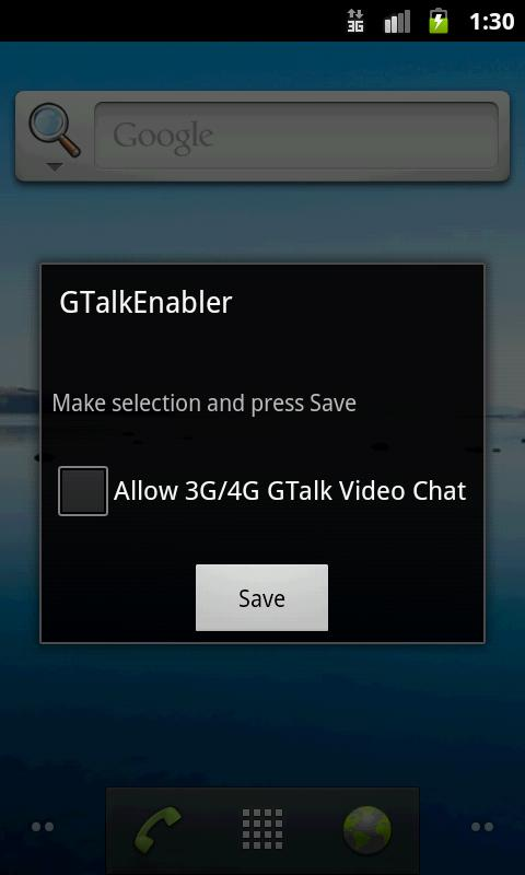 Enable Video Chat over 3G/4G - screenshot