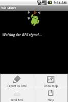 Screenshot of WifiStorer