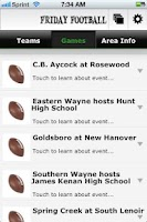 Screenshot of Friday Night Football - WC