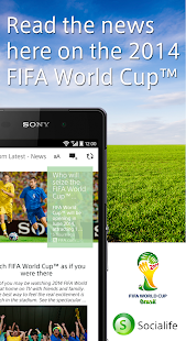 News by Sony: Socialife News - screenshot thumbnail
