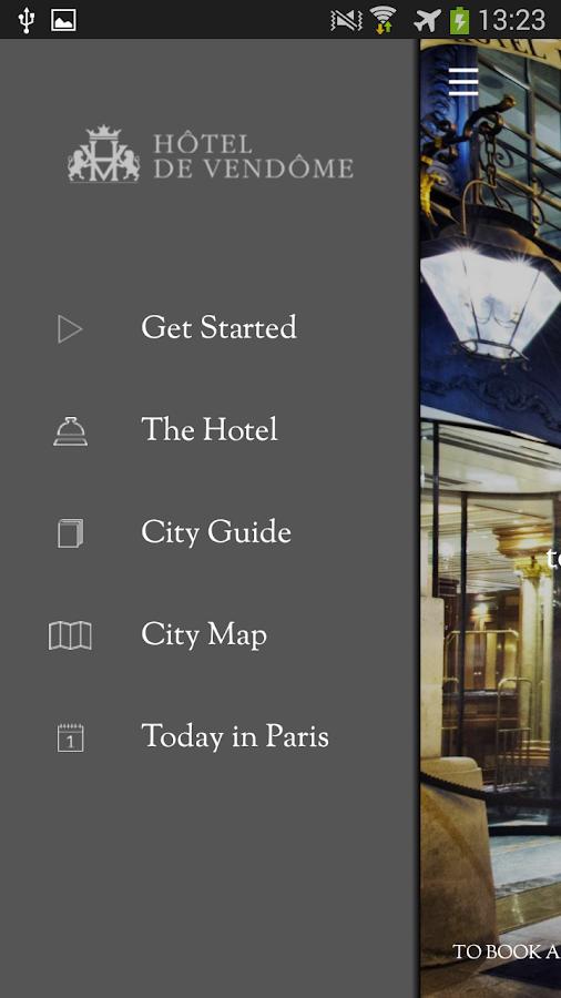 Hotel de Vendome - screenshot