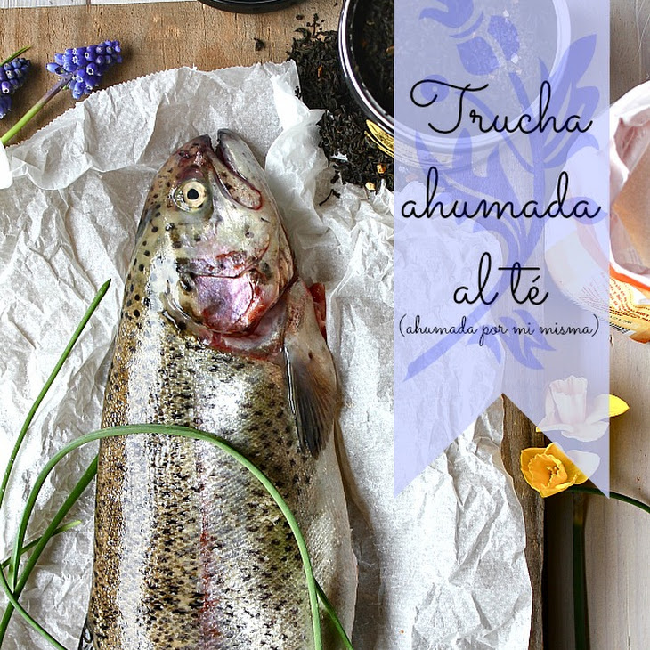 Smoked Trout in Tea