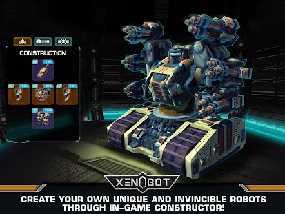 Xenobot. Battle robots.- screenshot thumbnail