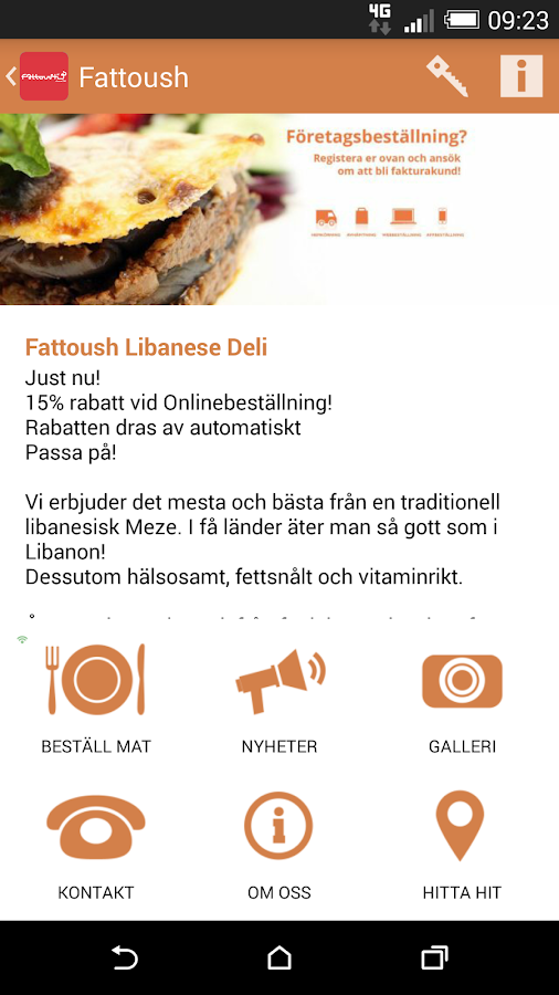 Fattoush- screenshot