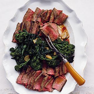 Florentine-Style Porterhouse Steaks