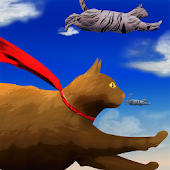 Flying Cute Cats: Kitty Quest
