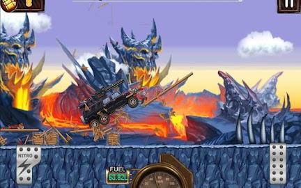 Monster Car Hill Racer Screenshot 4