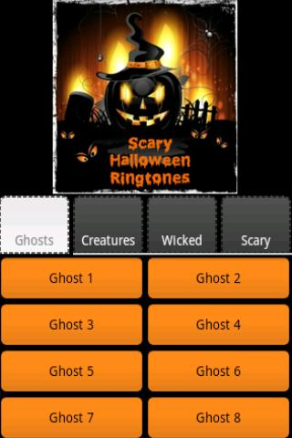 【免費音樂App】Scary Halloween Ringtones-APP點子