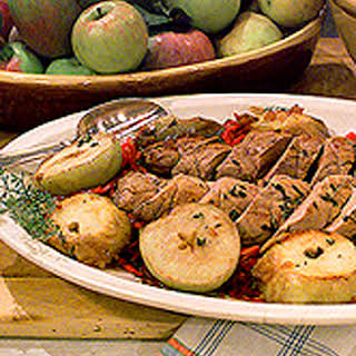 Pork Tenderloin and Apples.