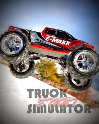 Truck Stunt Simulator 3D - screenshot