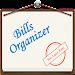 Bills Organizer with Sync Icon