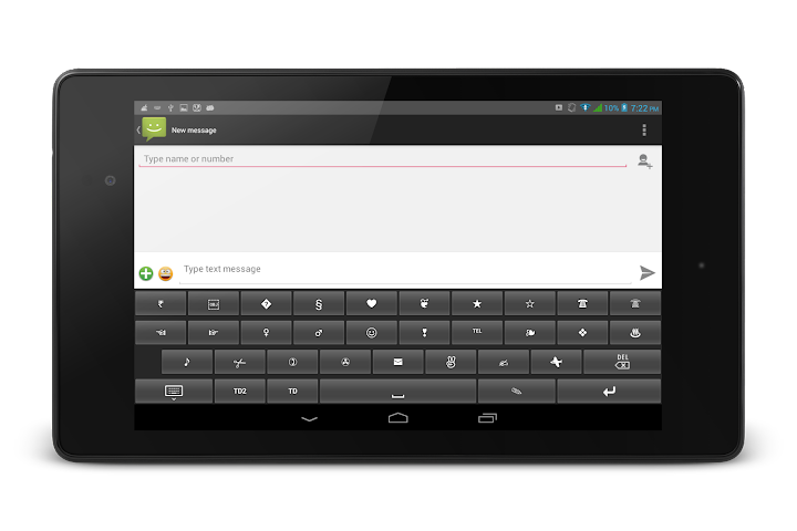android TypeDroid Pro with Keyboard Screenshot 1
