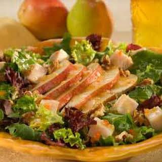 Turkey, Pear & Walnut Salad .