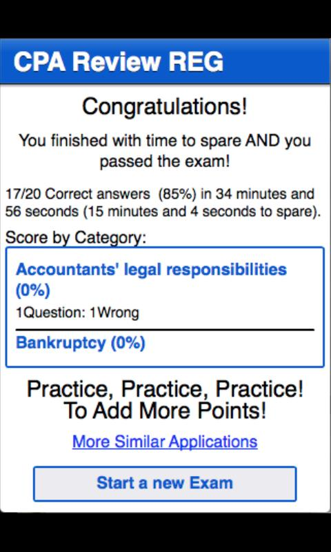 CPA Review - REG - screenshot