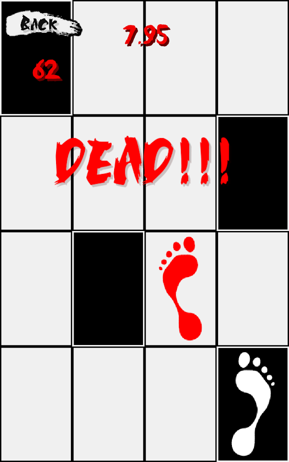 Don T Step On The White Tile High Score