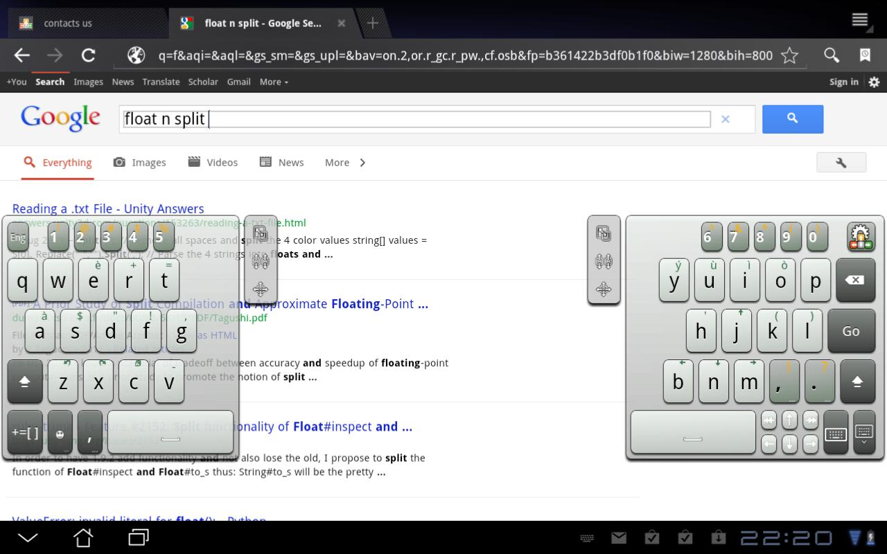 A.I.type Tablet Keyboard Free - screenshot