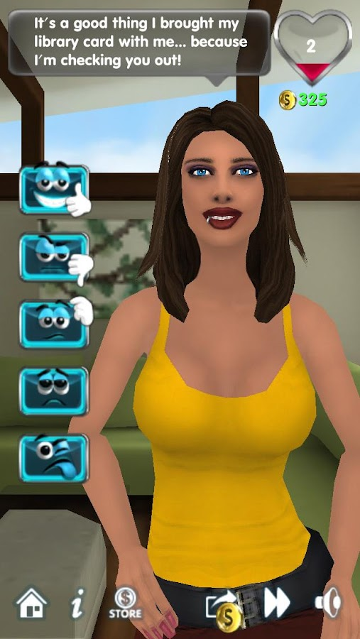 My Virtual Girlfriend Free - screenshot
