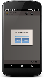 Control de Gastos: miniatura de captura de pantalla