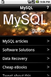 MySQL- screenshot thumbnail ...