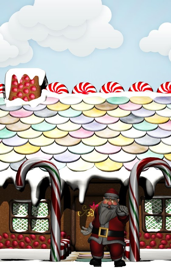Santa Claus LiveWallpaper 3d - screenshot
