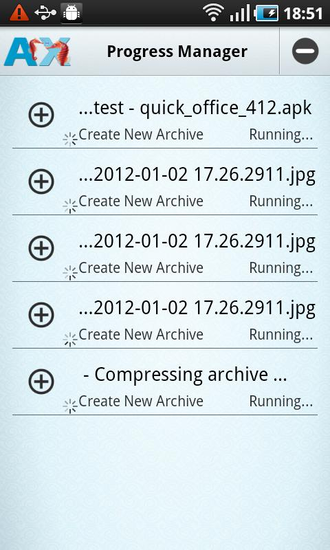 AndroXplorer Pro File Manager- screenshot