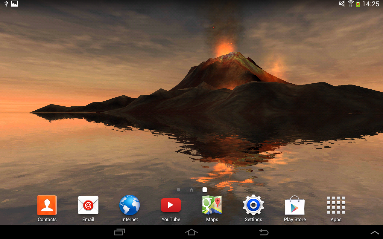 3d volcano live wallpaper free android apps on google play